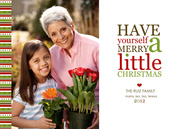 Grandparents Holiday Cards - Lil Christmas