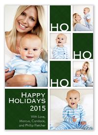 Baby Holiday Cards - Happy Ho Ho
