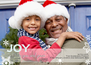 Joy Day-Grandparents Holiday Cards