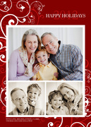 Crimson Design-Grandparents Holiday Cards