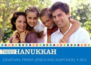 Hanukkah cards - Many Stars