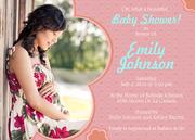 Baby Shower Invites - Pink Extravaganza