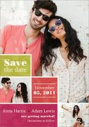 Photo Save the Date Cards - One + One Date