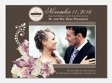 Wedding Bouquet -  Marriage Announcements