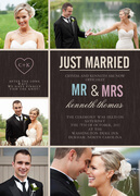 Wedding Announcements - Modern Heart