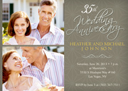 Photo Anniversary Invitations - Sweet Star Days
