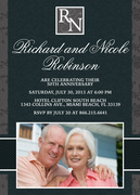 Wedding Anniversary Invitations - Together Forever