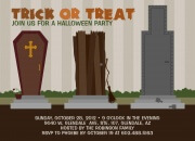 Trick or Treat Days -  Halloween Party Invitations