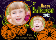 halloween cards - Laughing Pumpkins