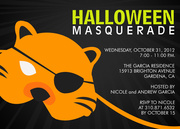 Halloween Masquerade -  Halloween Party Invitations