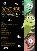 Super Monsters - Halloween Invitations