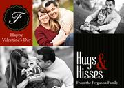 Valentine Photo Cards - Big Hugs