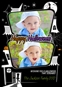 halloween cards - Scream Scene