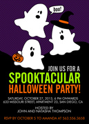 Halloween Party Invitations - Spooktacular Fun