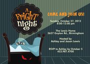 Fright Night - Halloween Invitations
