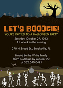 Boogie Nights -  Halloween Party Invitations