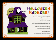 Halloween Madness -  Halloween Party Invitations