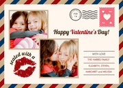 Valentine Cards - Love Letter