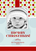 Gift Tag -  Baby Holiday Cards