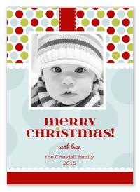 Baby Christmas Cards - Gift Tag
