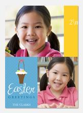 Easter Cards - Easter Basket
