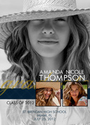 Proud Day Announcement -  Photo Graduation Invitations