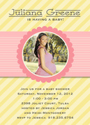 Pink Ribbon Day -  Baby Shower Invites