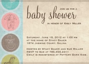 Damask Baby - Baby Shower Invitations