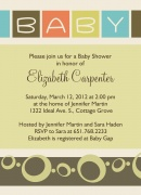 Baby Shower Invitations - Baby Art