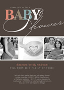 Perfect Family -  Baby Shower Invites