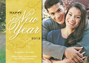 new years photo cards - Lovely & New