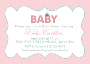 Baby Shower Invites - Lil' GirlBee