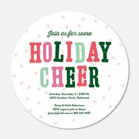 Snowball Party - Holiday Party Invitations