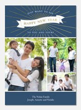 Glimmer & Glow -  happy new years cards