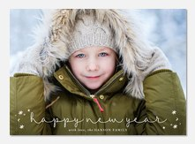 Noteworthy Year - new years photo cards