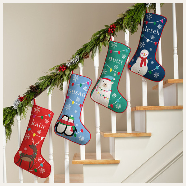 Personalized Stocking: Festive Whimsy