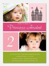 Photo Birthday Invitations - Calling All Princesses